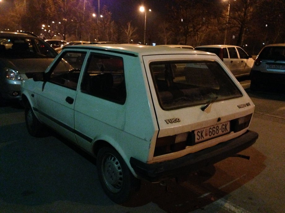 The Yugo, they don't make 'em like this anymore